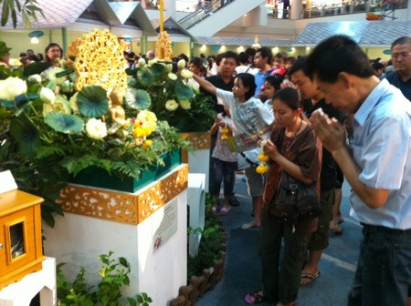 Songkran has already started at Seacon Square