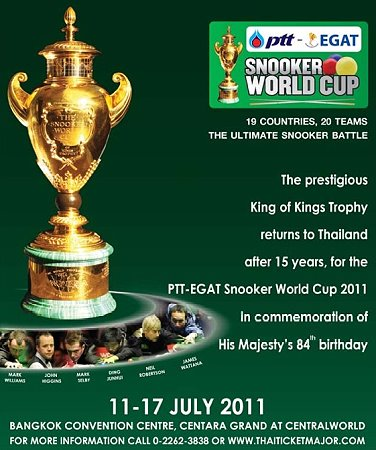 snooker world cup