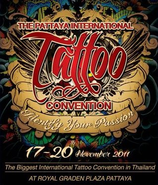 Pattaya international tattoo convention 17 20 november for Upcoming tattoo conventions