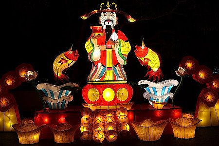 Hat Yai Lantern Festival is Not Flooded