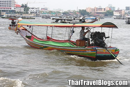 Taling Chan floating market trip by River City
