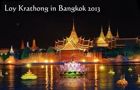 Where to Celebrate Loy Krathong 2013 in Bangkok