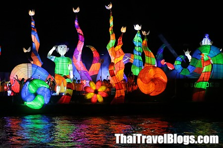 Bangkok's Illuminated Boat Procession for Loy Krathong