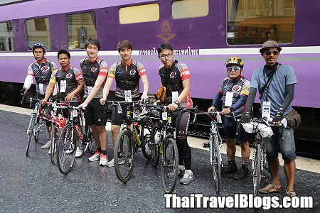 Riding the Bike Train in Thailand