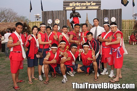10th Wai Kru Muay Thai Ceremony in Ayutthaya
