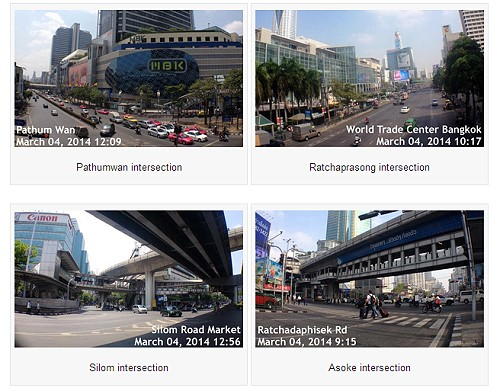 Bangkok's main roads in shopping & entertainment districts re-open