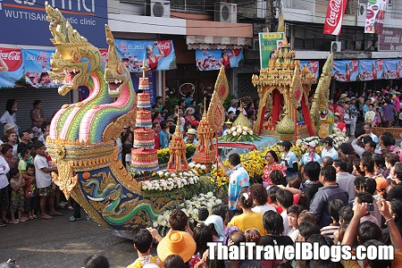 Schedule for Phra Pradaeng Songkran Festival 2014