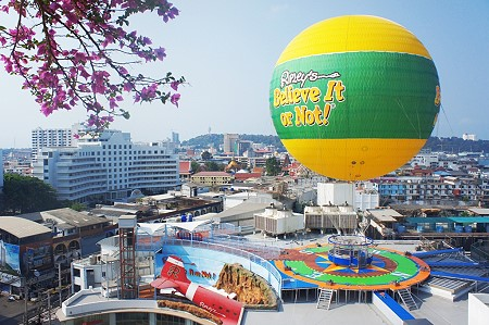Tethered Balloon ride in Pattaya