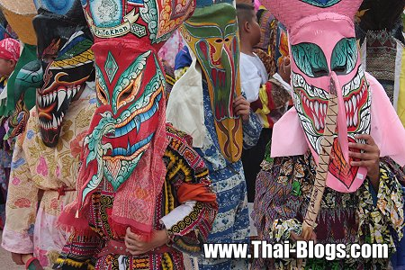 Bun Luang and the Phi Ta Khon Ghost Festival