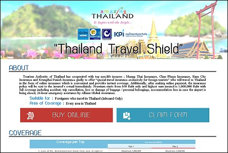 Thailand Launches Tourist Insurance Coverage Scheme