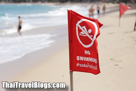 Don't Swim when you see a Red Flag