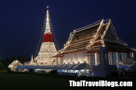 Samut Prakan Temple Fair is on 13-24 October 2014