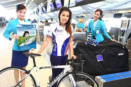 Bicycles Fly Free on Bangkok Airways
