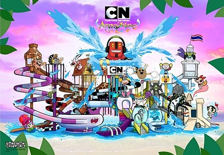 Cartoon Network Amazone Waterpark Opens on 3 October 2014 in Pattaya