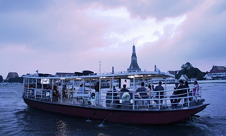 'The Ferry Gallery' is a contemporary public art space on the Chao Phraya