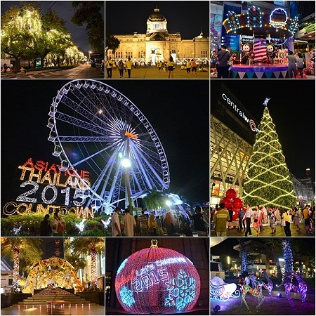 10 Places To See The Beautiful Lights Of Bangkok Over The New Year Thai Travel News Events