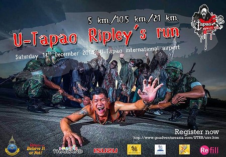 U-Tapao Ripley's Run is Thailand's first haunted trail running