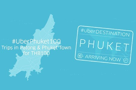 Ride an Uber Limo in Phuket for only 100 Baht