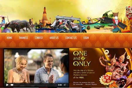 """Win a Free One month Stay in Thailand in the """"One and Only"""" Contest"""