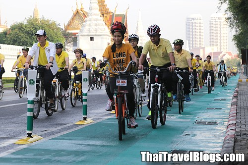 New Cycle Lanes Planned for Bangkok