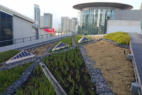 Siam Green Sky Is The Largest Urban Rooftop Garden In
