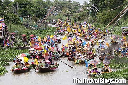 Aquatic Phansa Festival in Ayutthaya cancelled due to lack of water