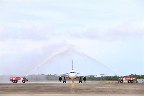 U-Tapao Welcomes First AirAsia Flight from Kuala Lumpur