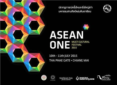 ASEAN One Multicultural Festival 2015 in Chiang Mai from 10-11 July