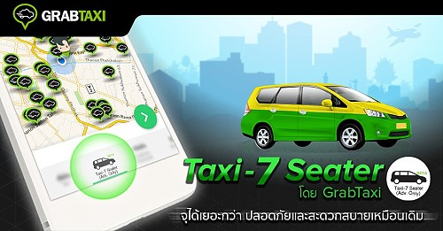 How to Rent a 7-Seater Taxi for Bangkok Airport