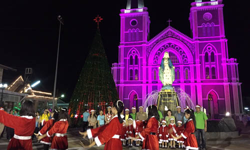 christmas celebrations in thailand