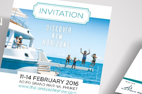 Thailand Yacht Show 2016 is from 11-14 February