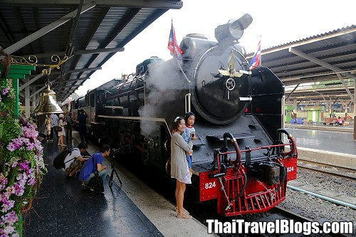 Next Steam Train Trip in Thailand is on 26 March 2016