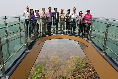 Glass Skywalk in Nong Khai is now ready to open
