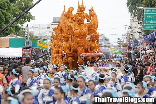 Candle Festival Parade in Ubon Ratchathani from 19-20 July 2016