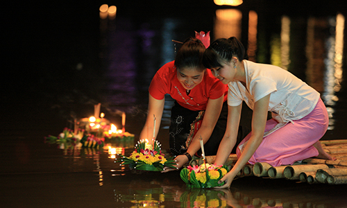 Loy Krathong festival is not cancelled this year