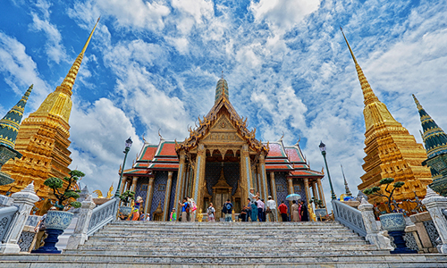 The Grand Palace will reopen its doors to tourists from 1st November