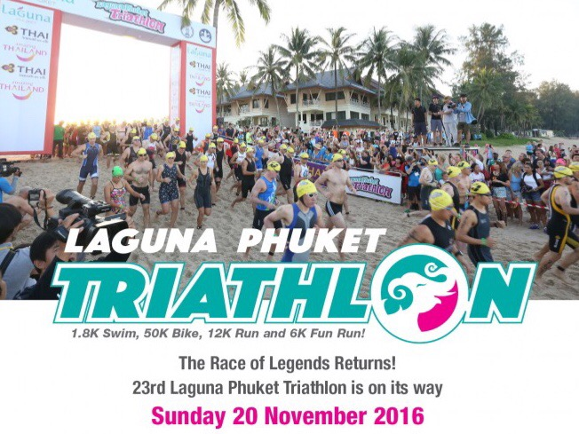 Laguna Phuket Triathlon on 20th November 2016