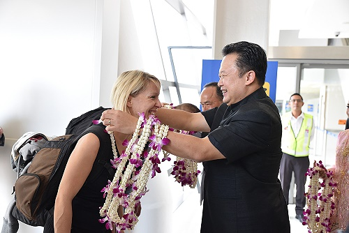 First direct flights from Frankfurt to Phuket