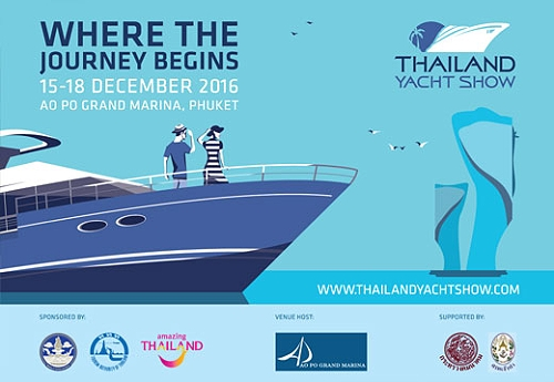 Thailand Yacht Show from 15-18 December 2016 at the Ao Po Grand Marina in Phuket