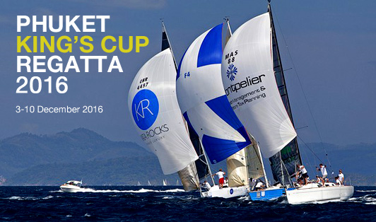 Phuket King's Cup Regatta 2016