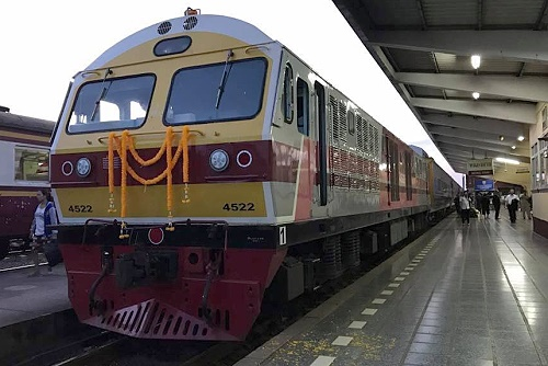 New overnight express train to Nong Khai