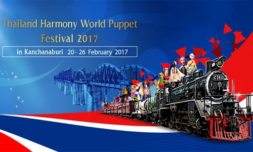 Thailand Harmony World Puppet Festival from 20-26 February 2017