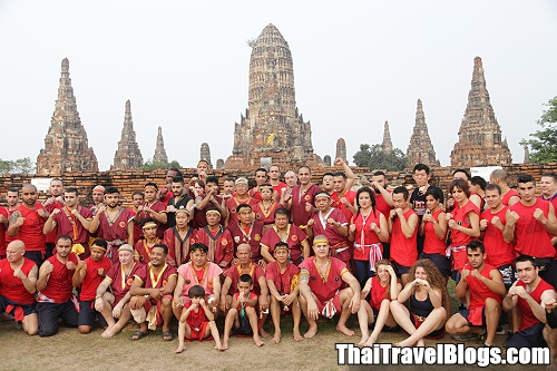 13th Wai Kru Muay Thai Ceremony in Ayutthaya on Friday 17 March