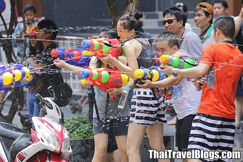 Songkran on Khao San Road to be more subdued this year