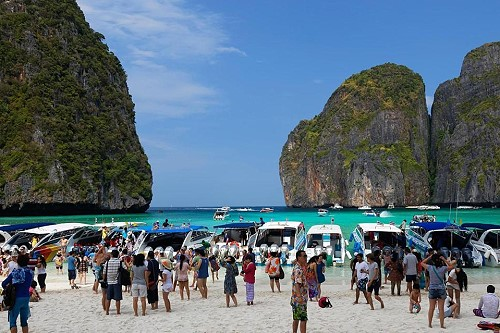 Updated Maya Bay On Phi Le Island Will Not Close To The Public From June September 2018