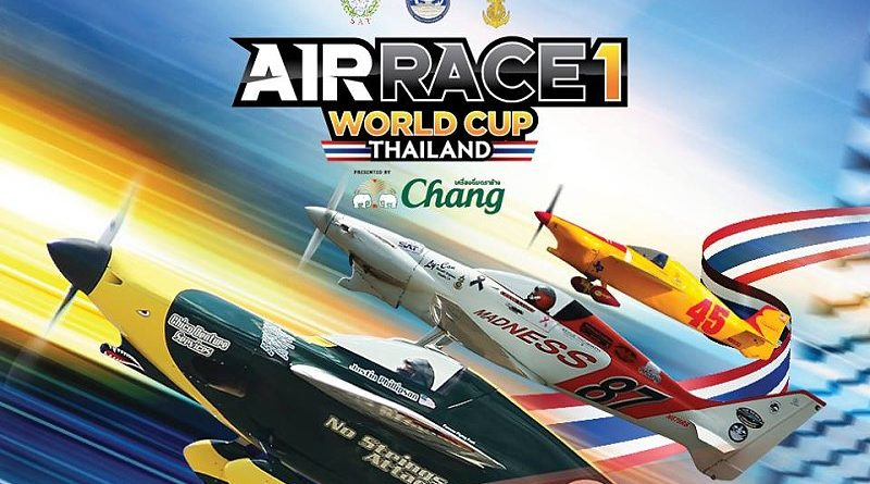 Air Race 1 World Cup Thailand from 17-19 November 2017