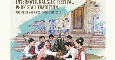 International Silk Festival, Phuk Siao Tradition, and Khon Kaen Red Cross Fair 2017 from 29 November to 10 December