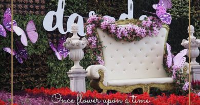 Once Flower Upon A Time flower festival at Dasada Gallery until 28 February 2018