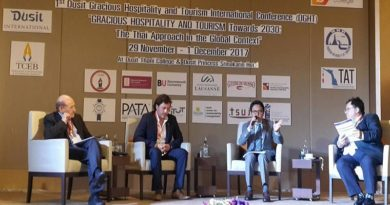 TAT shares its view of sustainable tourism at Dusit Thai College event