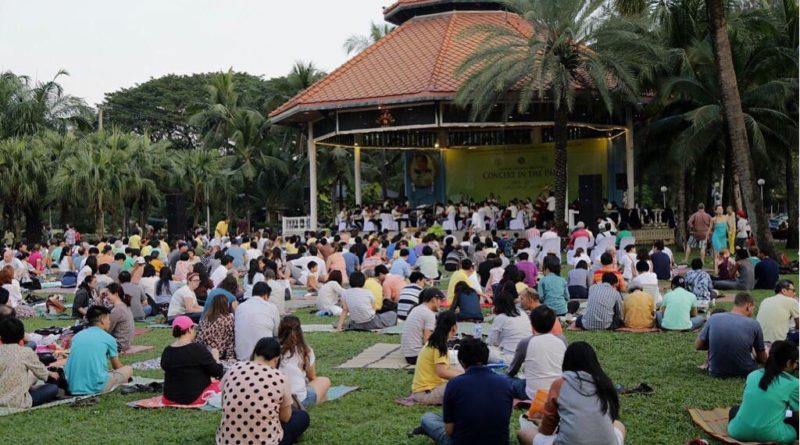 Concert in Lumpini Park returns on 24th December 2017